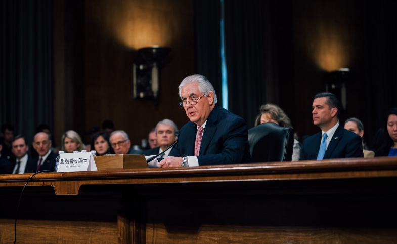 Rex Tillerson Confirmation Hearing