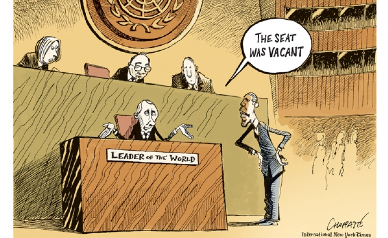 A cartoon by Patrick Chappatte