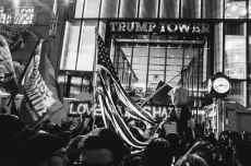 New York Rally Against Trump, by Mathias Swasik