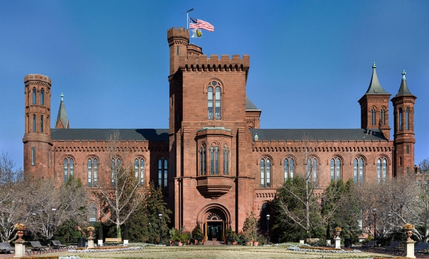 Photo of Smithsonian via Wikipedia