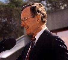 George H. W. Bush and Diplomacy