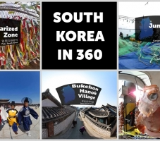 Immersive Postcards from South Korea