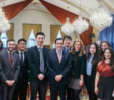 CPD Welcomes Former President of Taiwan