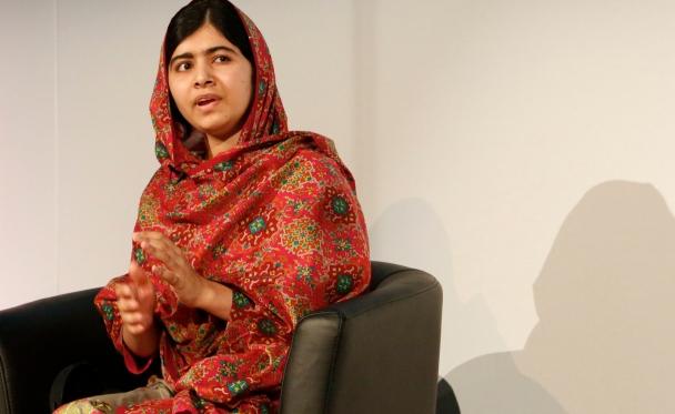Malala Yousafzai at Girl Summit 2014. Photo reprinted courtesy Russell Watkins/Department for International Development via Flickr