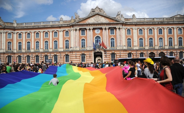Gay pride 365 - Marche des fiertés Toulouse 2011 by Guillaume Paumier, Flickr Creative Commons