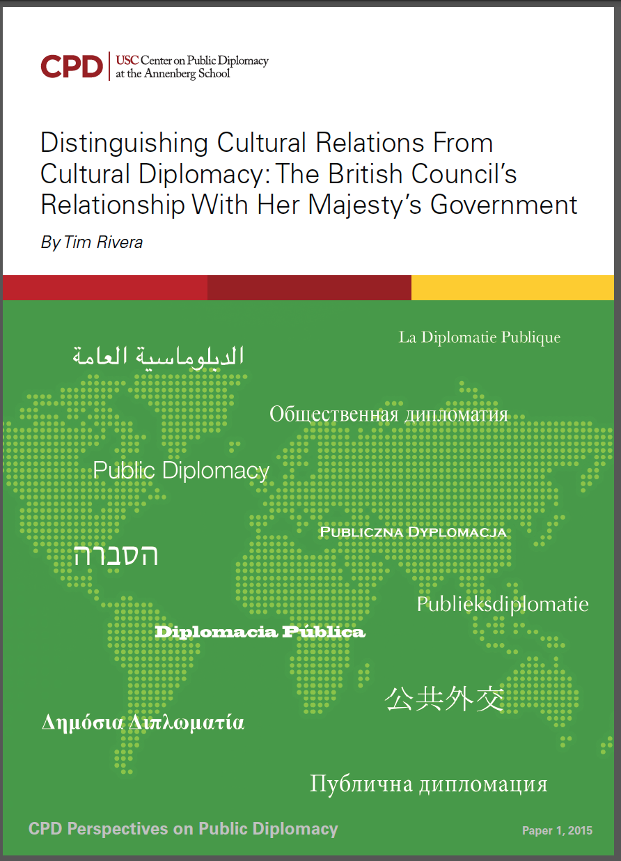cultural diplomacy a filipino perspective The evolution of postwar japan's cultural diplomacy: asian studies 27 (1989)   perspectives on philippine foreign policy asian studies 25-26 (1987-1988)   people power revolution of 1986 asian studies 22-24 (1984-1986.